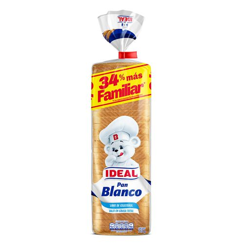 Pan Blanco XL 752g