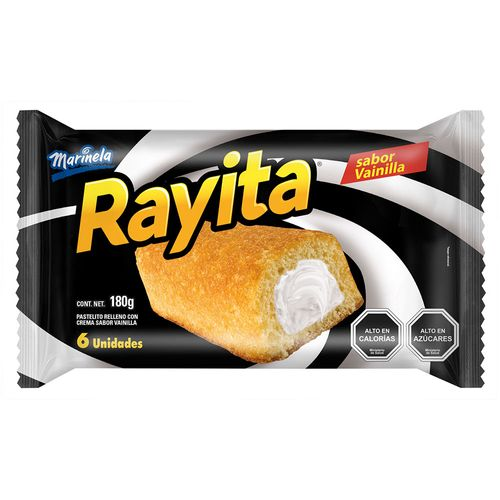 Rayita Vainilla 6un 180g