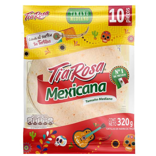 Tortilla Mexicana 10un 320g
