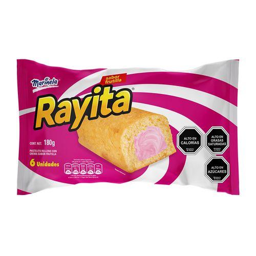 Rayita Frutilla 6un 180g