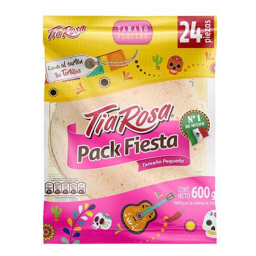 Tortilla Pack Fiesta Mexicana 24un 750g