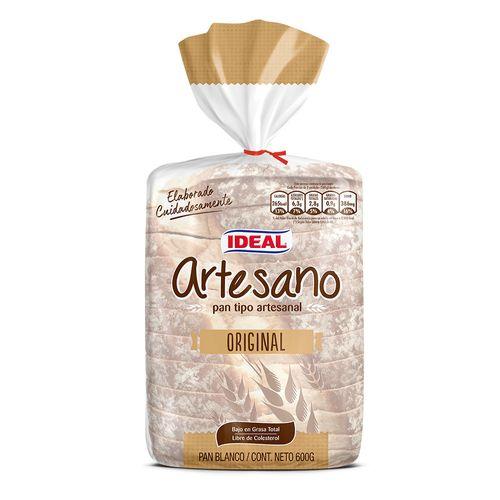 Pan Artesano Blanco 600g
