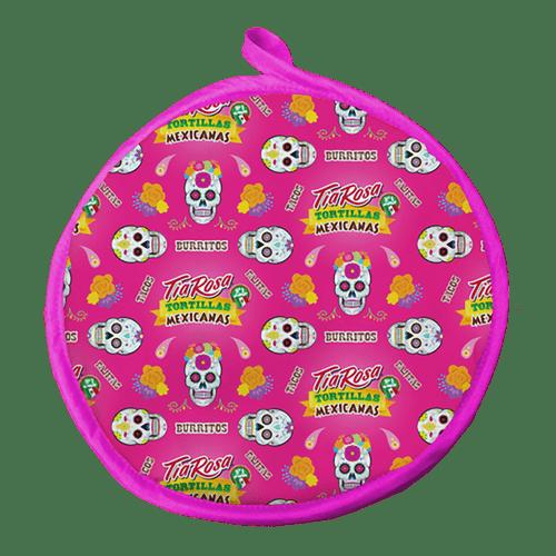 Calienta Tortillas Rosado