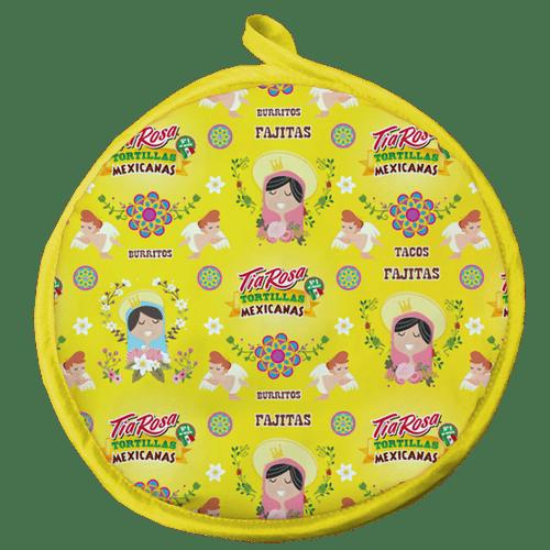 Calienta Tortillas Amarillo