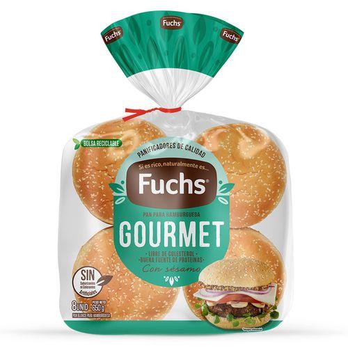 Pan de Hamburguesa Grande 8un 650g
