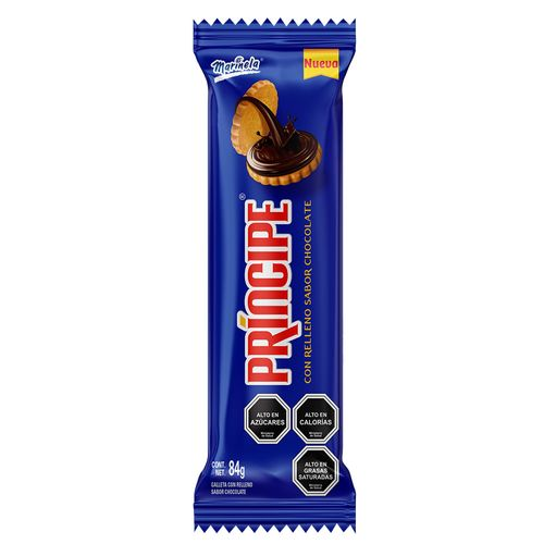 Galletas Principe Vainilla Chocolate 84g