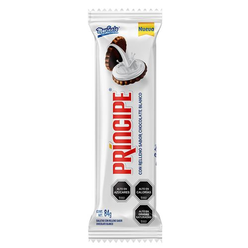 Galletas Principe Chocolante Blanco 84g