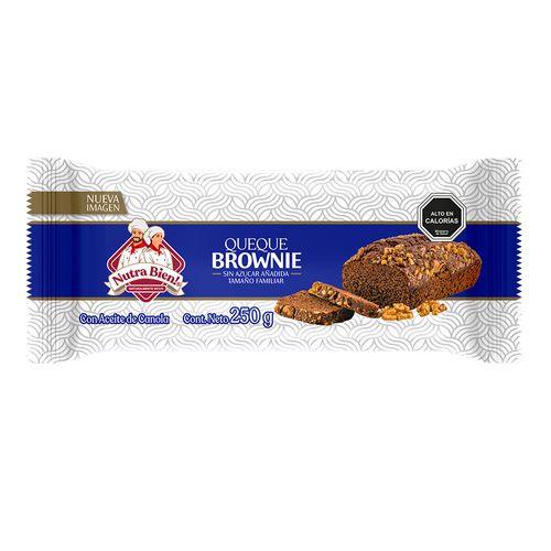 Queque Familiar Sin Azucar Brownie 250g