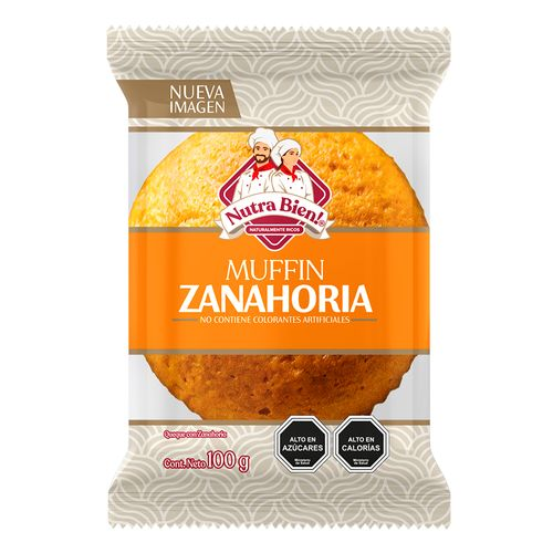 Muffin Zanahoria 100g
