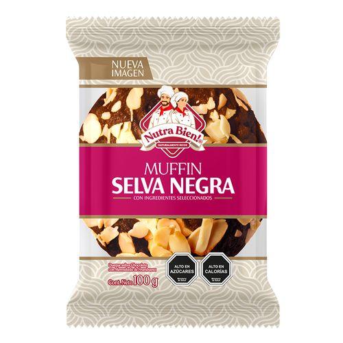 Muffin Selva Negra 100g